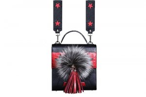 Bright Cross Tassel Bag