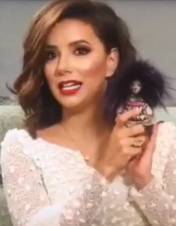 Eva Longoria With Tchi Tchi
